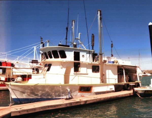 REEF FISHING VESSEL