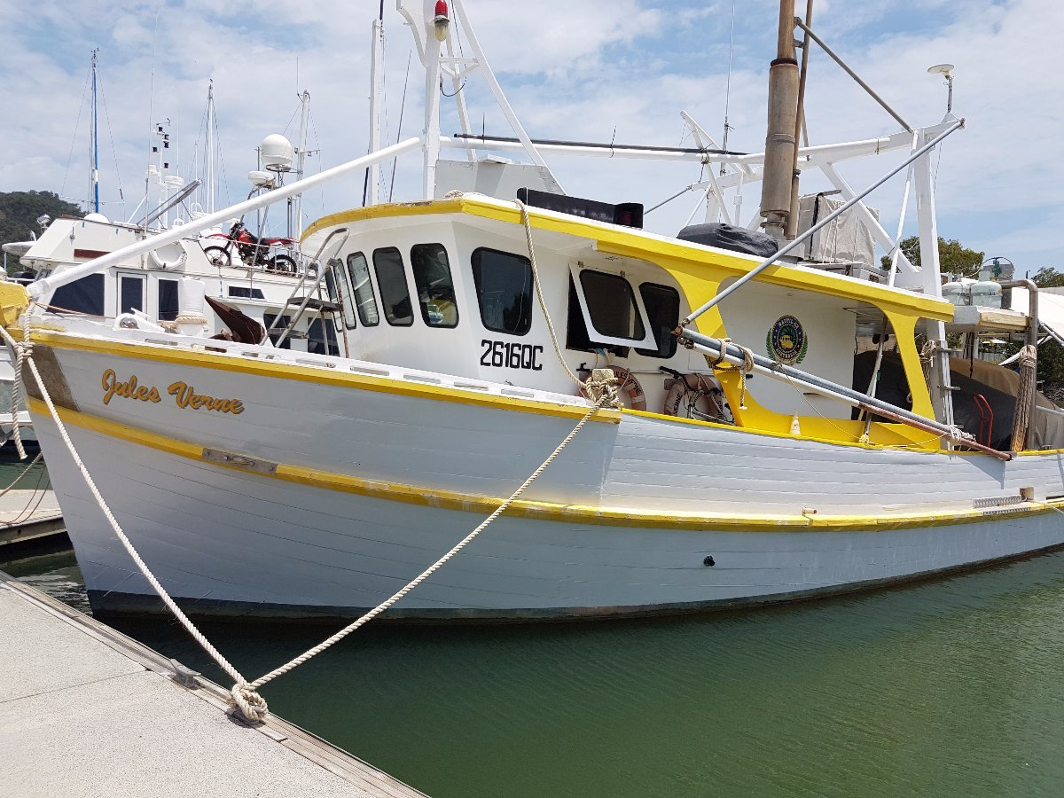 Millkraft Motor Cruiser Ex Prawn Trawler: Power Boats | Boats Online for Sale | Timber Carvel ...