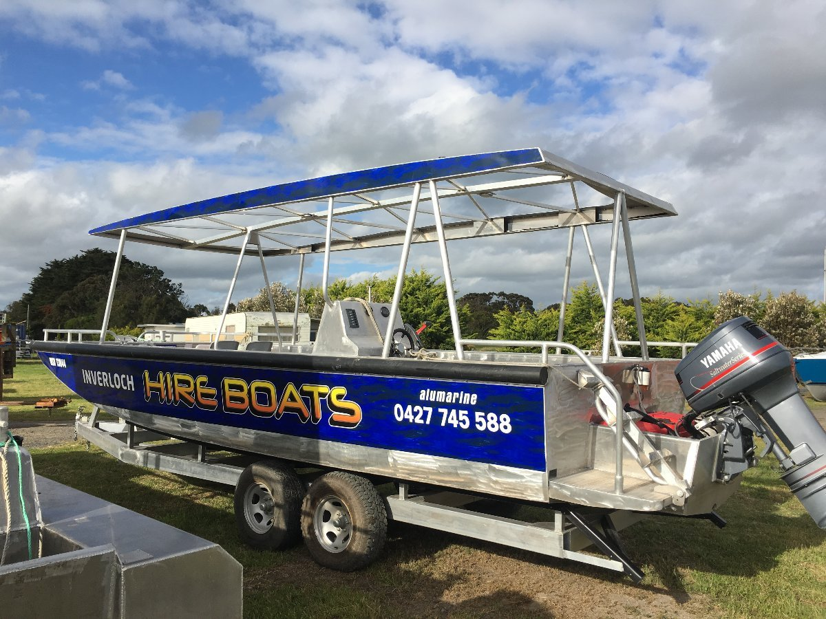 7.49m Alloy Punt / Work Boat