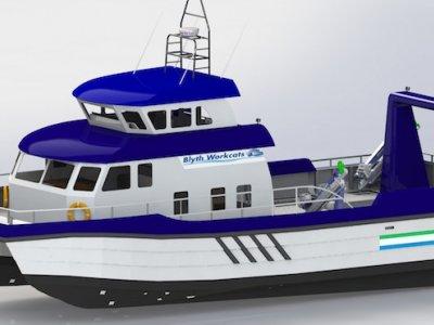 Blyth 19M Rescue Vessel