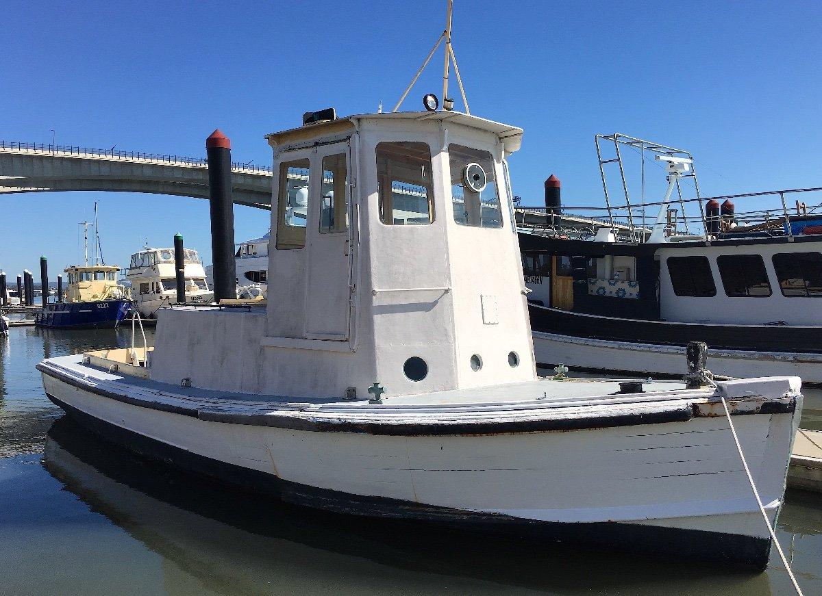 Custom 40 Timber Work Boat