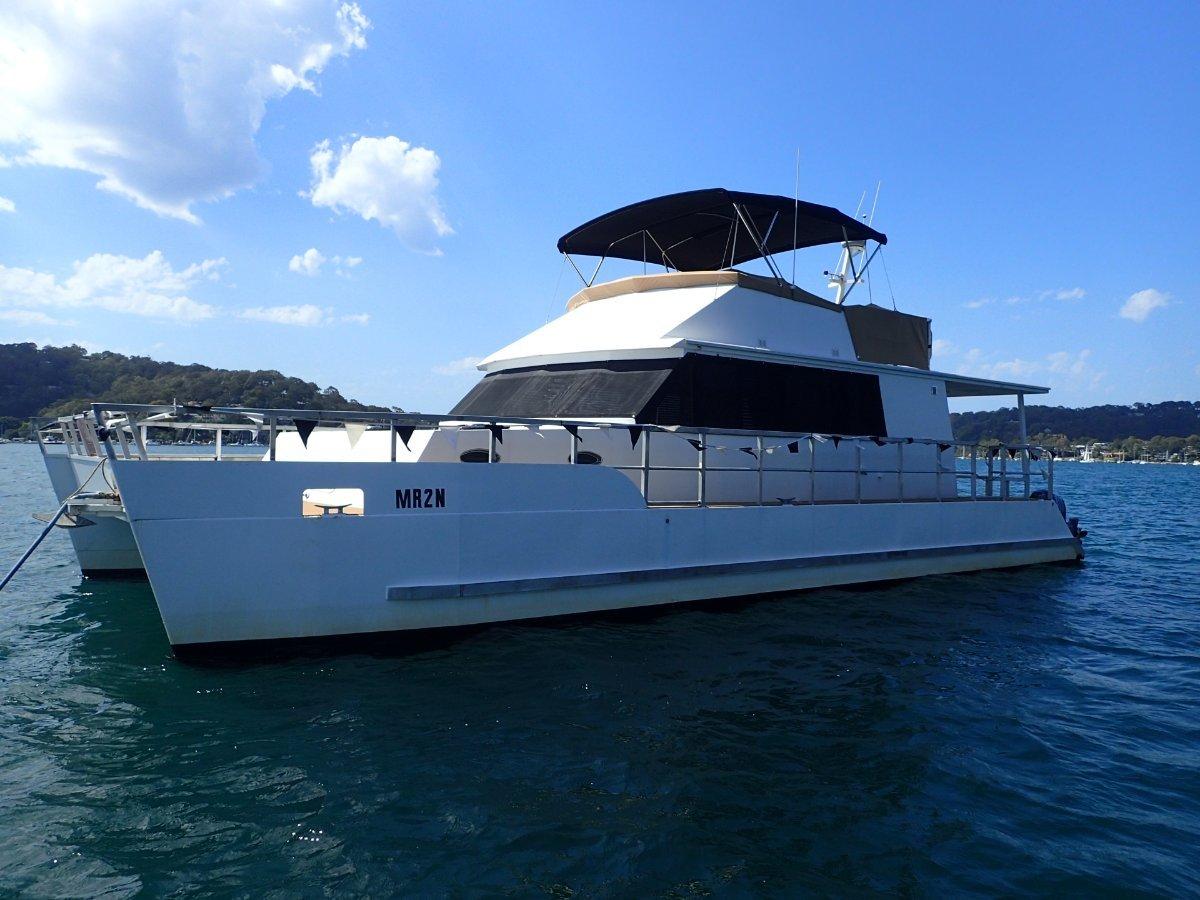 Powercat 48 ft alloy Flybridge 48 ft Alloy Flybridge Catamaran