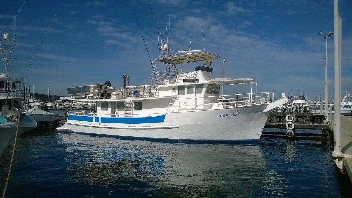 65' Steel Charter / Research Vessel