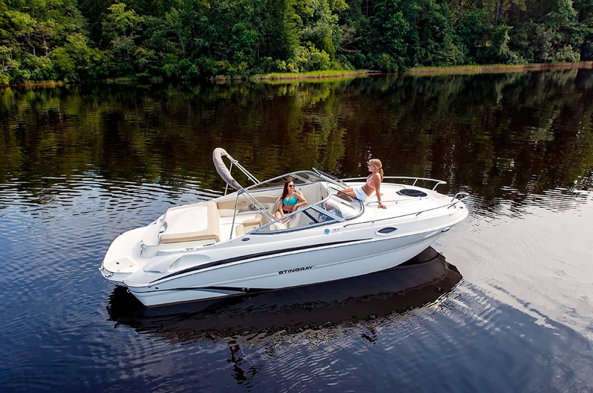 Stingray 215CR Cuddy Cabin