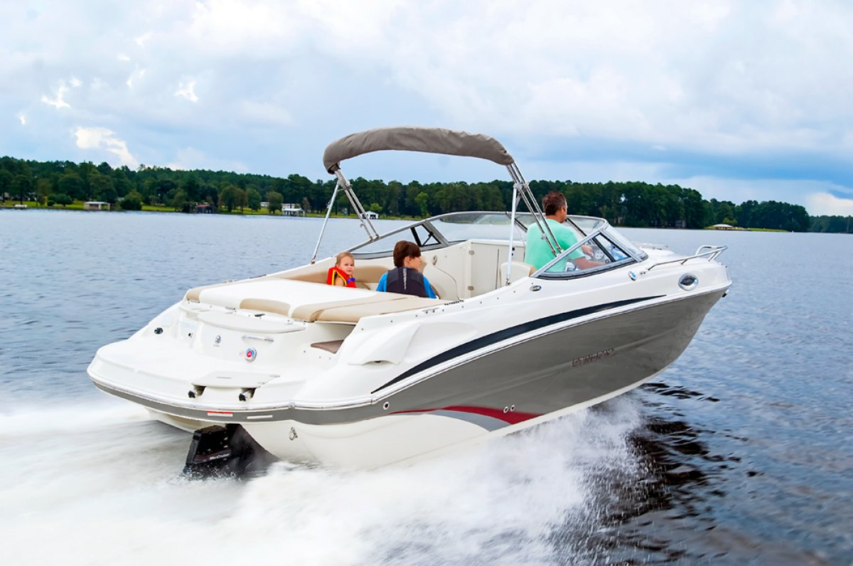 Stingray 235CR Cuddy Cabin