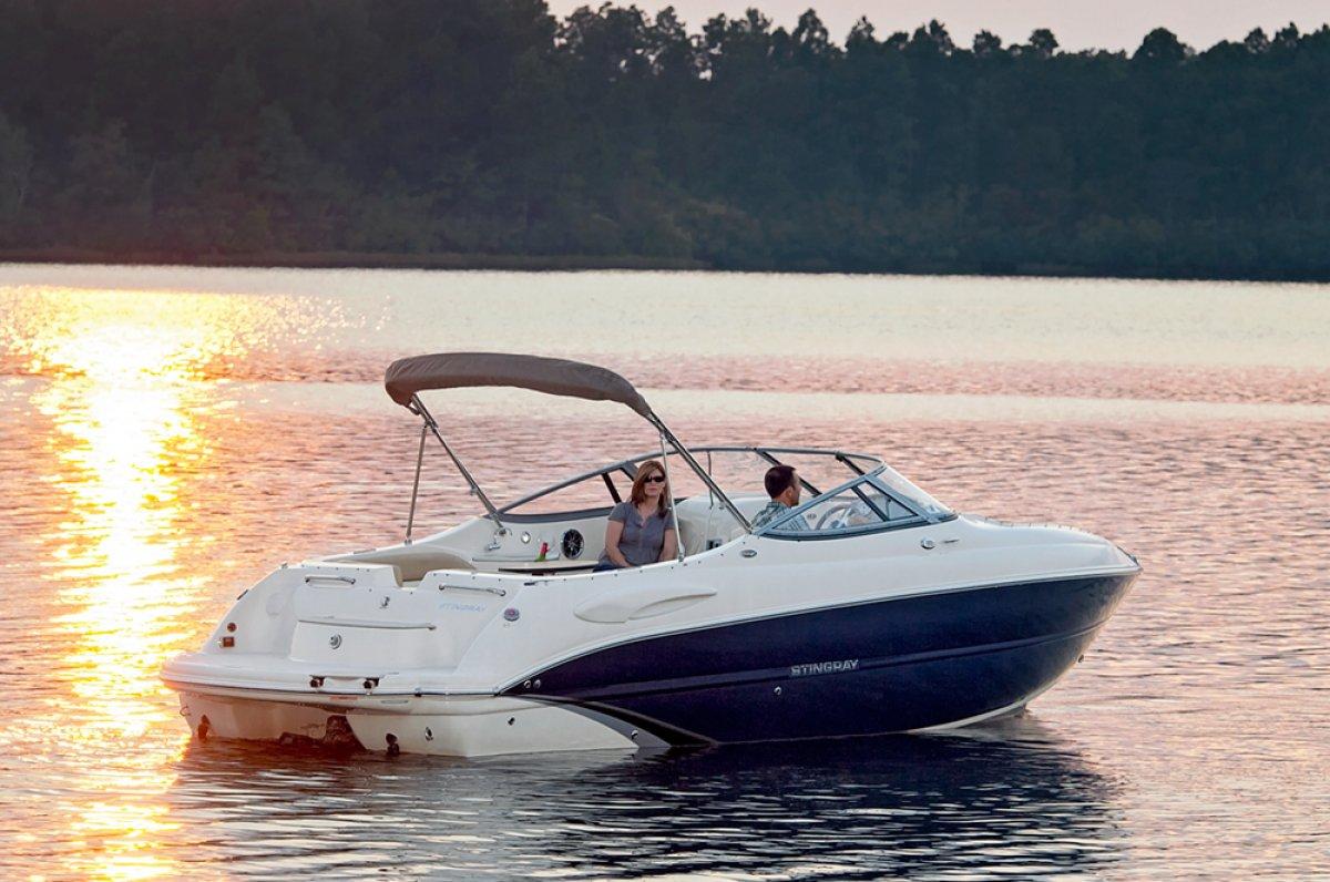 Stingray 250LR Sport Boat