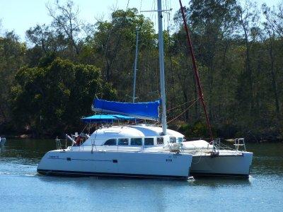Lagoon 38 four cabin version
