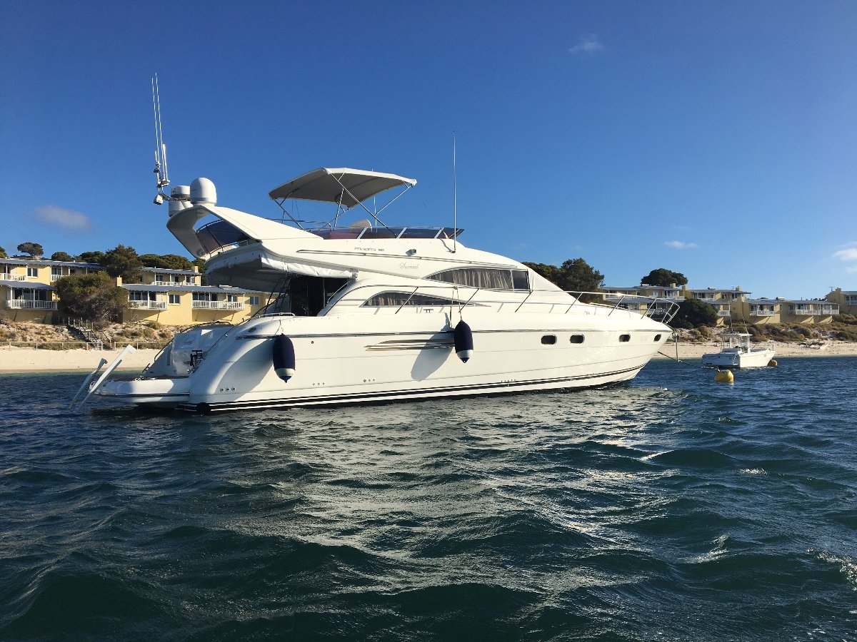 Princess 56 (Sunseeker fairline riviera Caribbean Bertram )