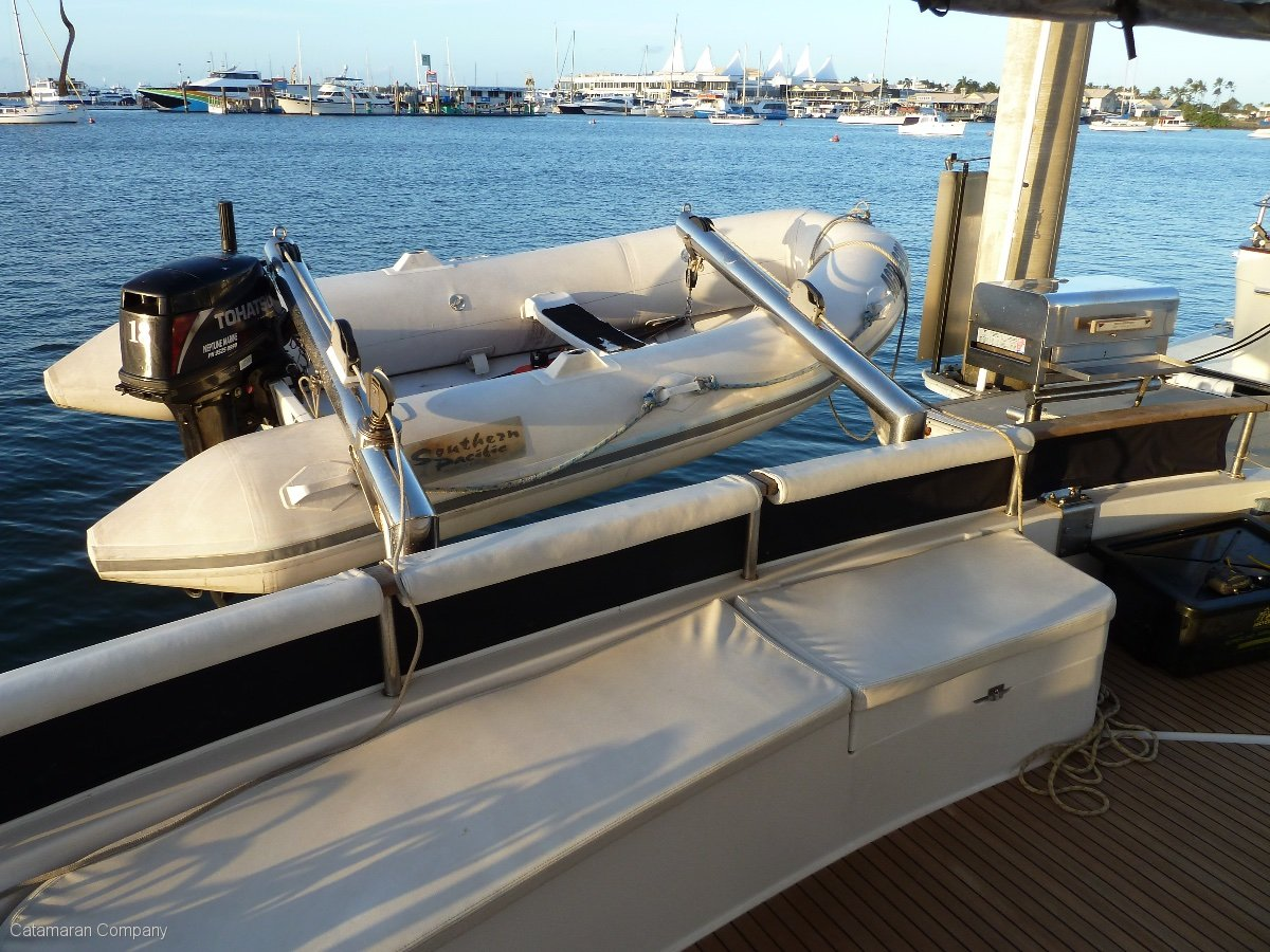 Fountaine Pajot Cumberland 44 Power Catamaran