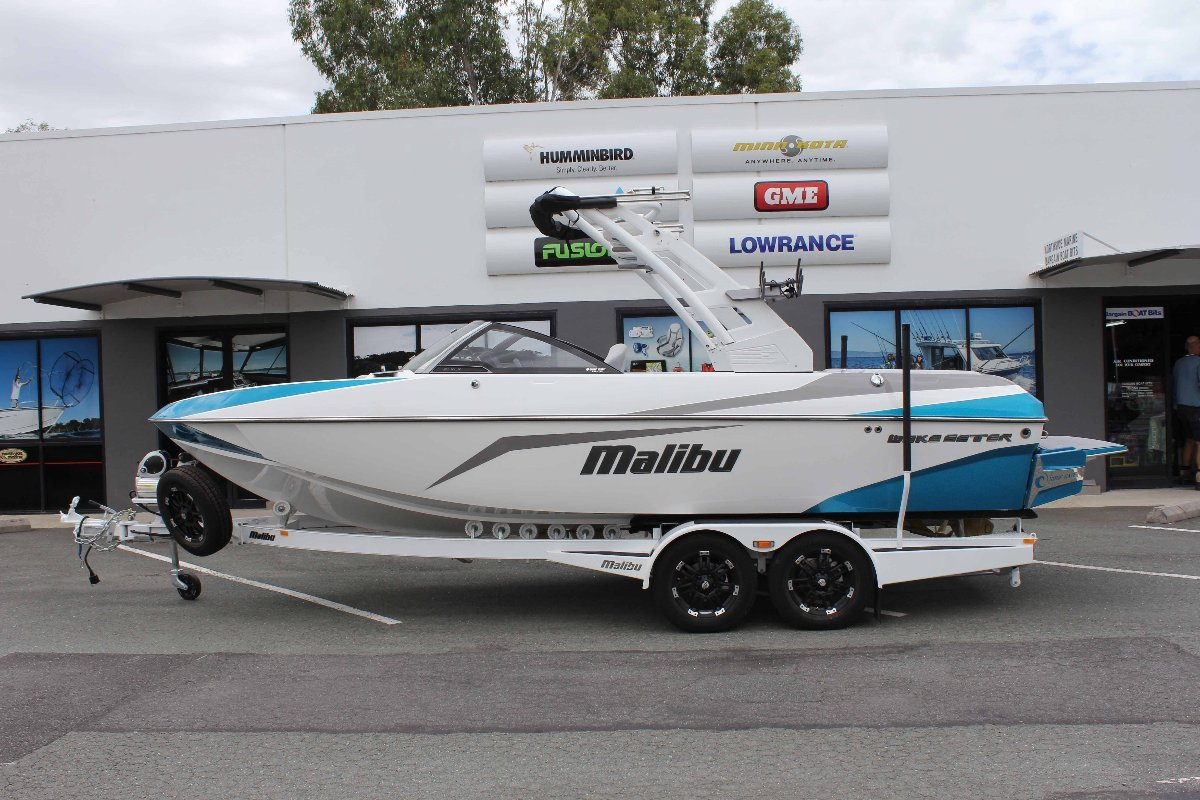 Malibu Wakesetter 21 Vlx + Indmar Ford Monsoon 410 W/SALT PACK