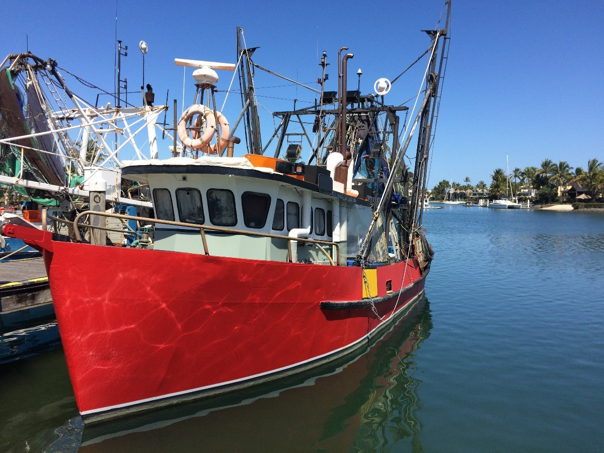 Fish trawler commercial vessel boats online for sale for Commercial fishing boats for sale by owner