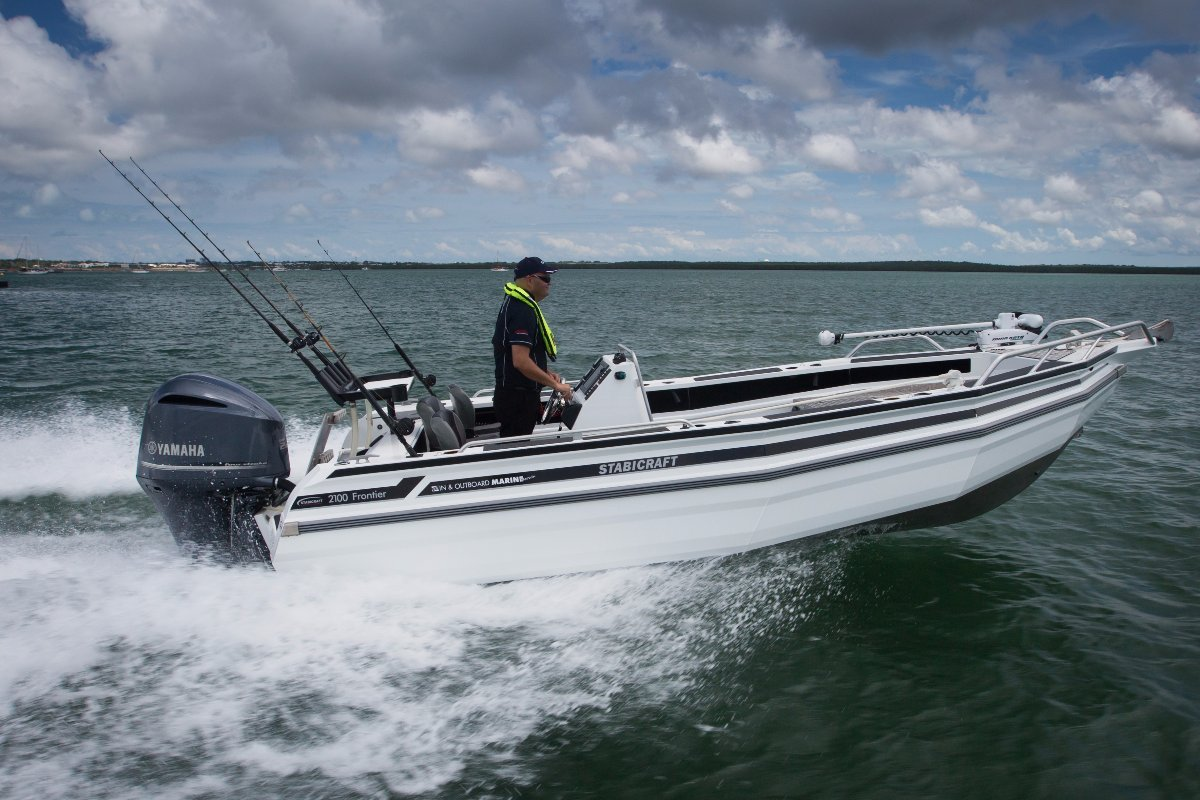 Stabicraft 2100 Frontier + Yamaha F150 150hp 4-Stroke