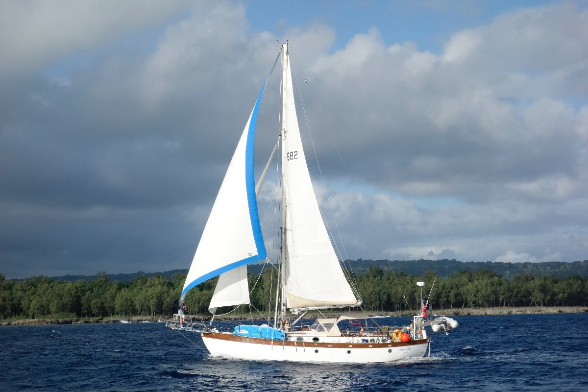 Young Sun 43 Staysail Cutter