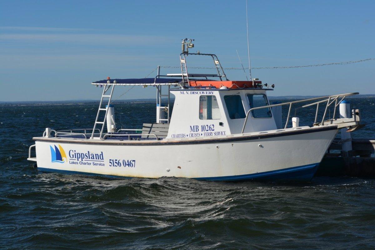 Custom Timber Charter Boat