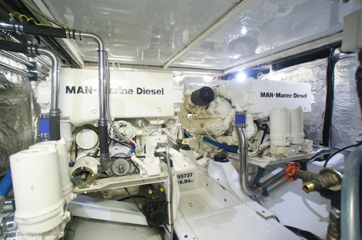 Precision 17 New MAN Diesels (1D, 1C and 2B Survey)