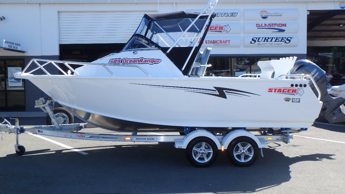 Stacer 589 Ocean Ranger + Yamaha F130XA 130hp Four Stroke