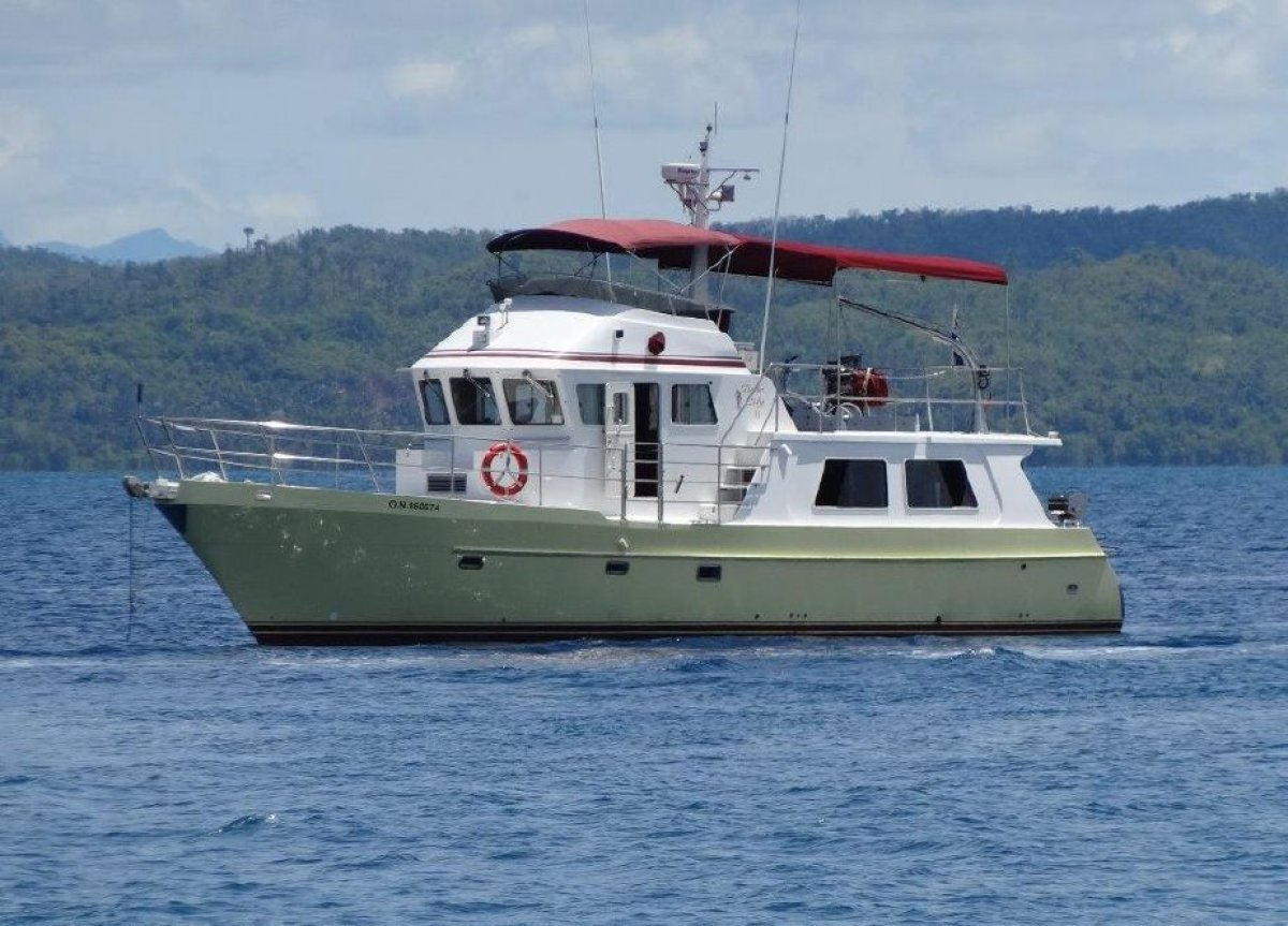 Seahorse 52 Displacement Pilothouse trawler