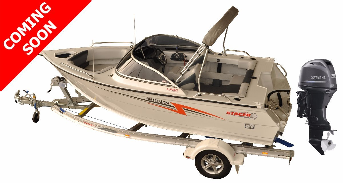 Stacer 489 Easy Rider + Yamaha F70LA 70hp Four Stroke Outboard