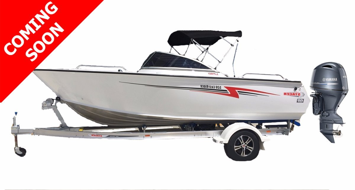 Stacer 539 Easy Rider + Yamaha F115LB 115hp Four Stroke