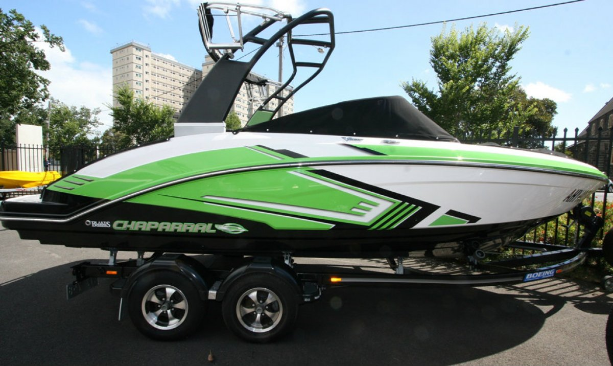 Chaparral 203 Vrx Bowrider Jet Boat