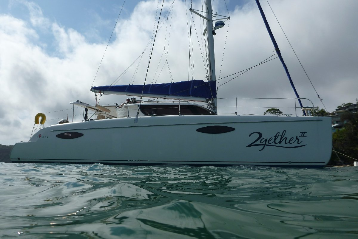 Fountaine Pajot Orana 44 Designer Owners Suite. Never in Charter