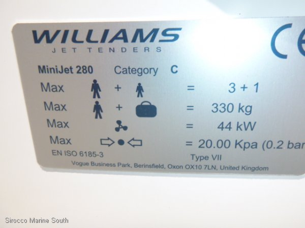 Williams 280 Minijet