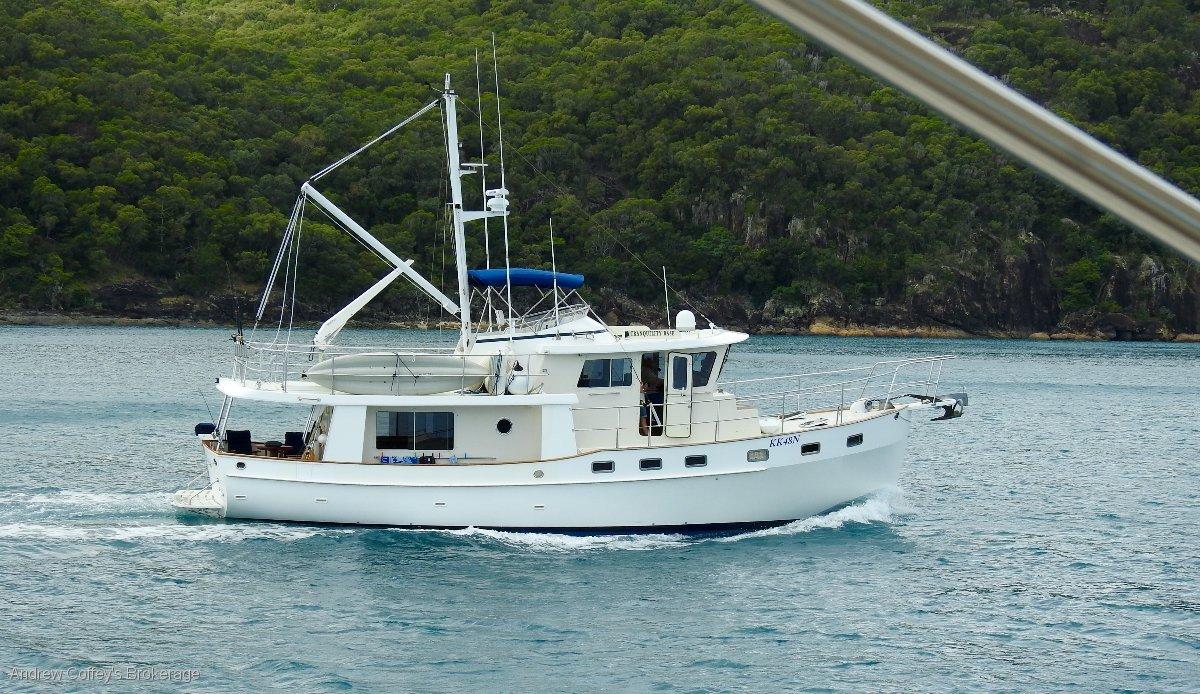 Kadey Krogen 48 North Sea Widebody:Tranquility Base