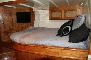 Abeking & Rasmussen Cruising Ketch:Master cabin