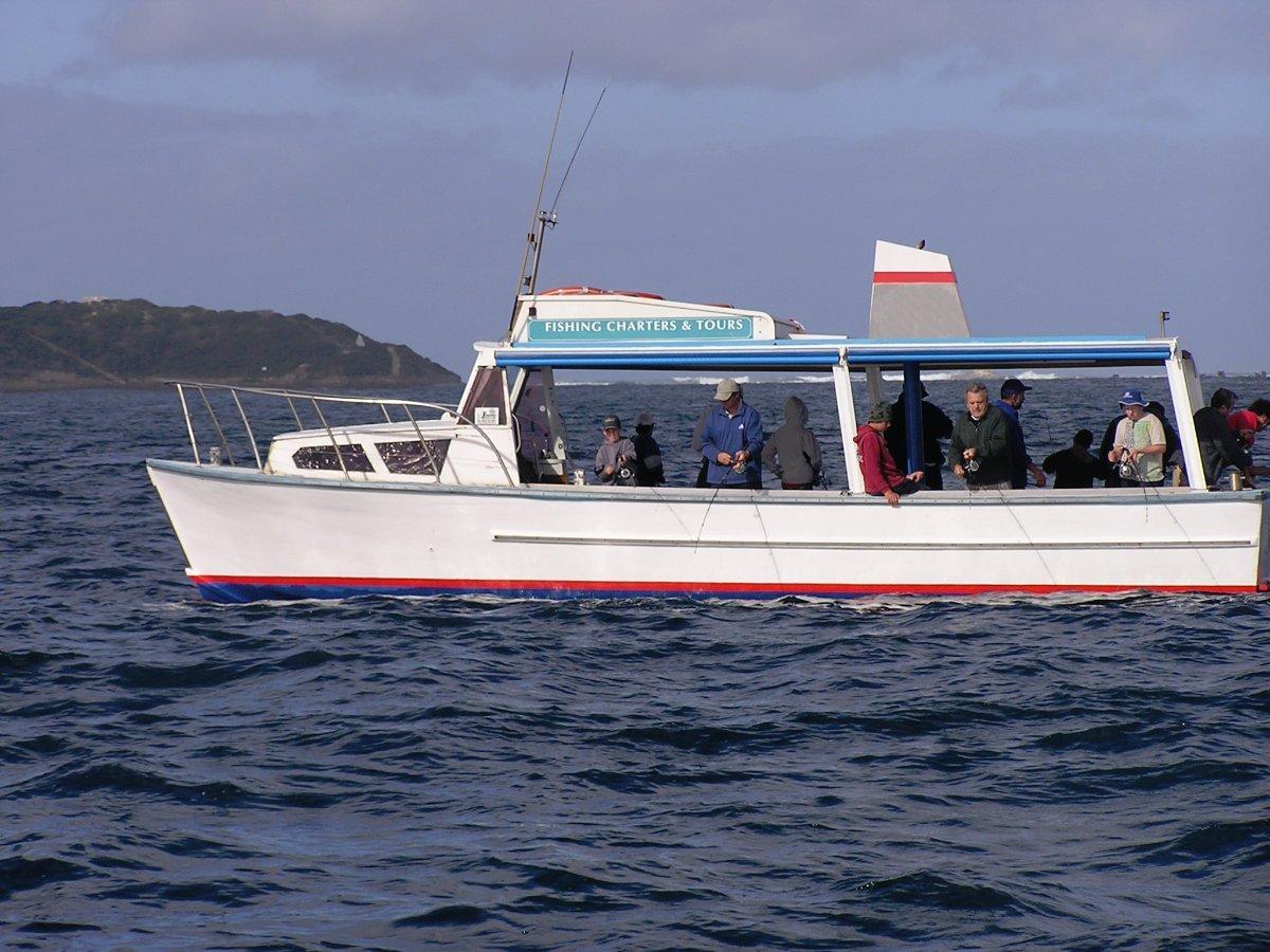 Custom charter boat