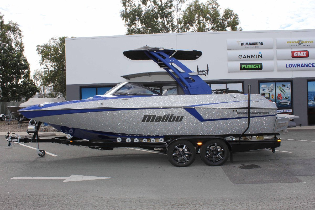 Malibu Wakesetter 22 Mxz + Indmar Ford Monsoon 450 W/SALT PACK