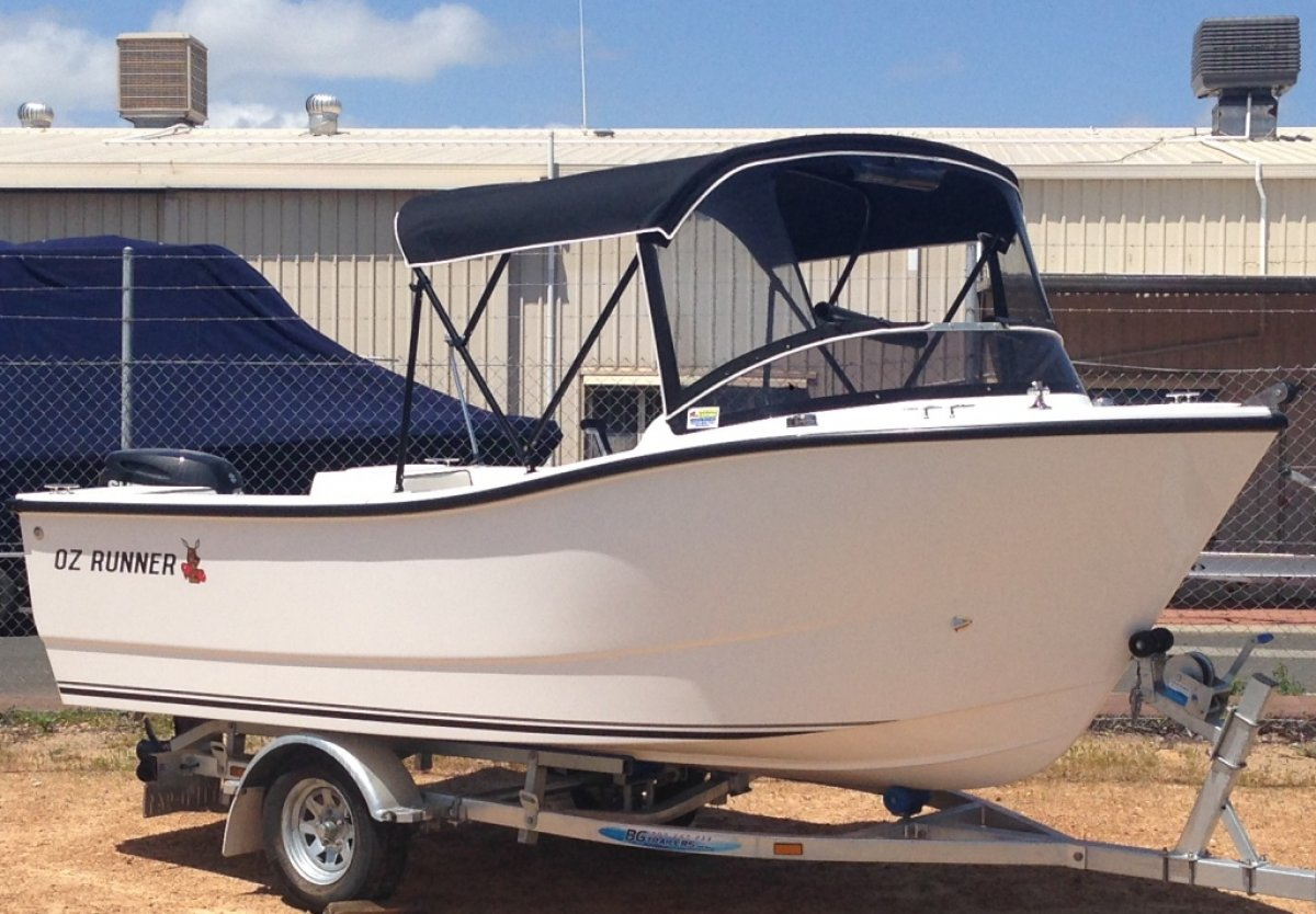Oz Runner 450 Runabout - New Boat Package - Built in WA - Huge Deck Space