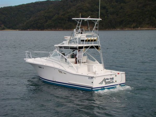 Luhrs 31 Open Tower Volvo IPS-400