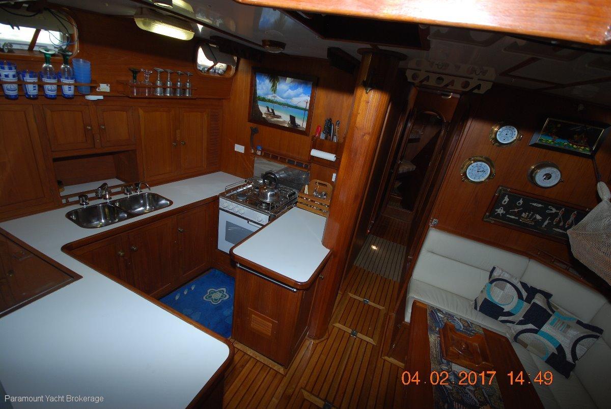 55' Steel sloop by renowned builder Allan Ellis