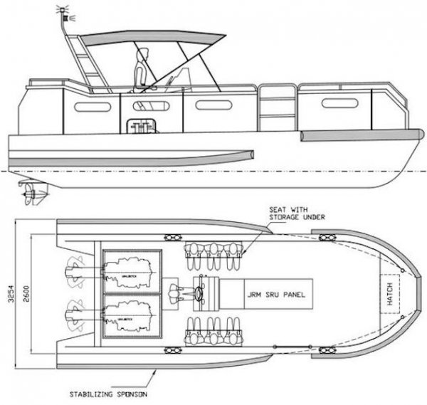 Five AB&E Centurion 26 Fast Dive Support Boat