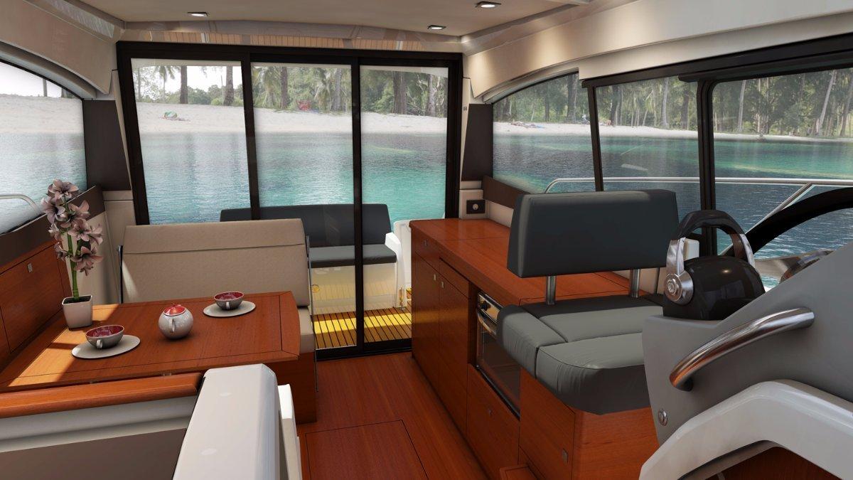 Jeanneau NC 9 + Volvo D4-260 DP 260hp Diesel Sterndrive