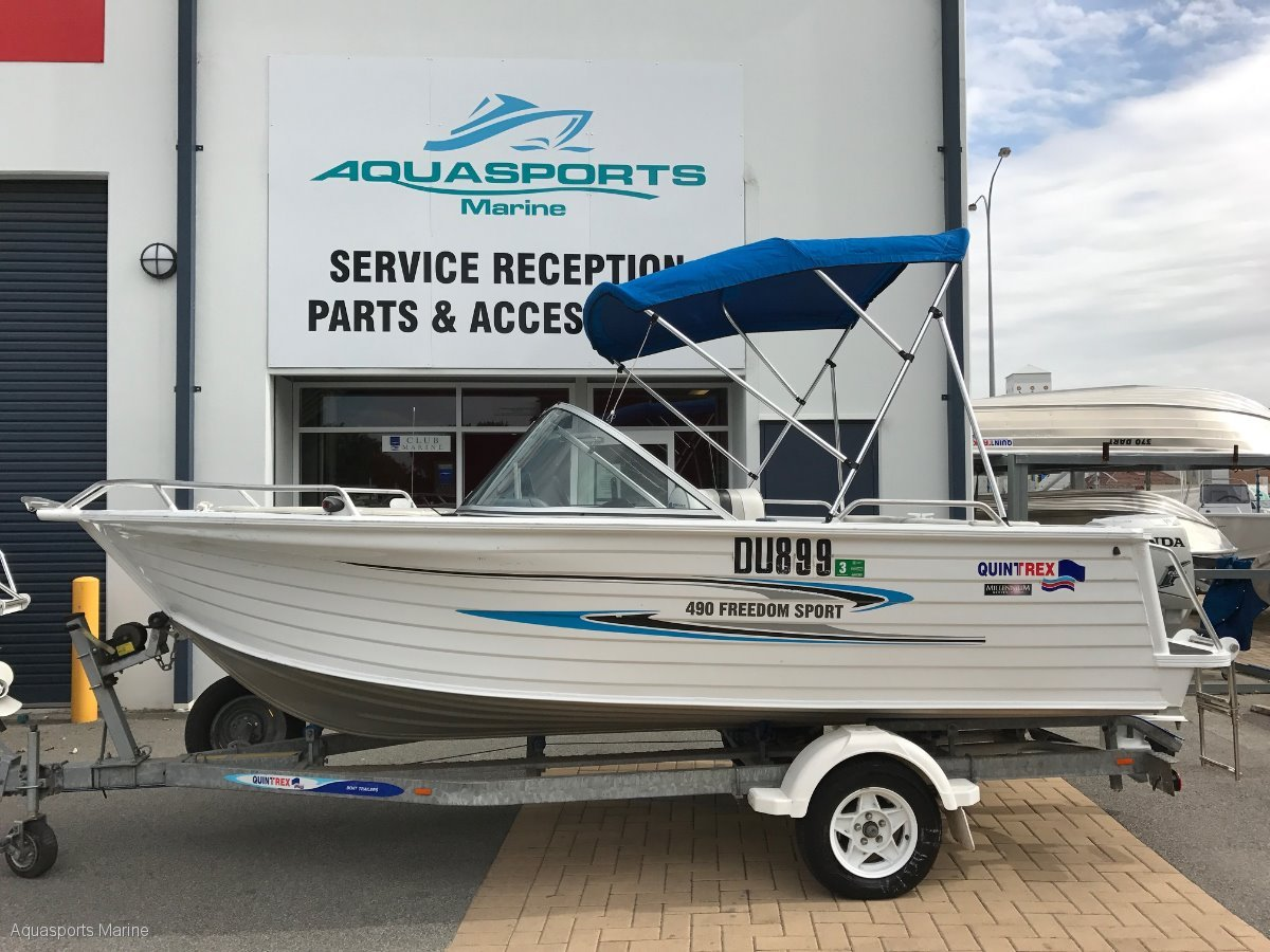 Pictures of Quintrex Bowrider Boats For Sale