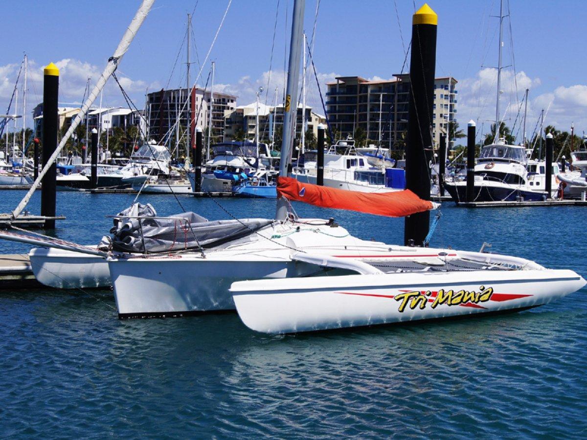 Corsair Sprint 750 Trailerable Trimaran:Corsair Sprint 750 Trimaran