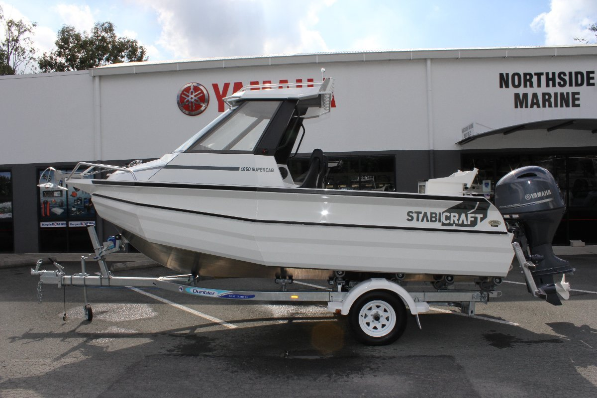 Stabicraft 1850 Supercab + Yamaha F115XB 115hp Four Stroke