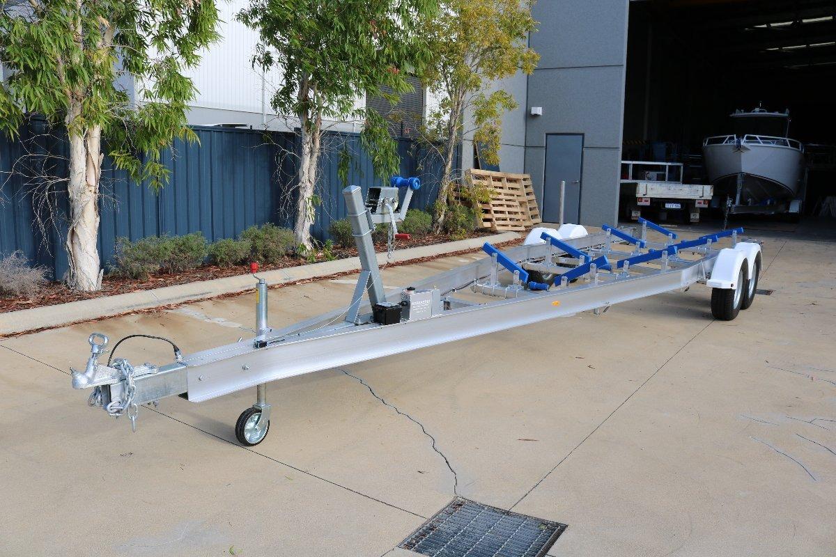 Aluminium Trailer to suit 7.5m boat 3390kg ATM