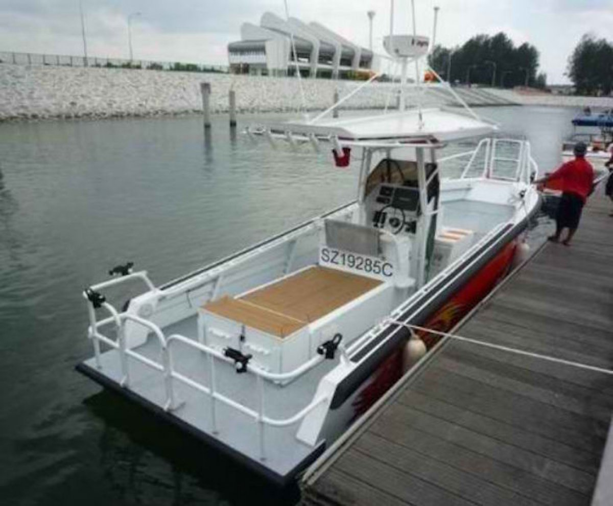 Five AB&E Centurion 26 Sports Fisherman (Demo Boat)