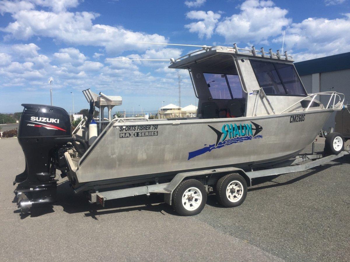Fisher 7500 maxi sports fisher