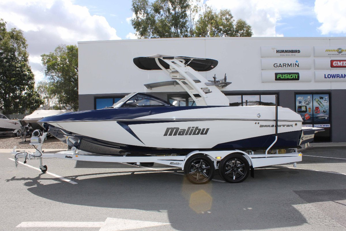 Malibu Wakesetter 22 Vlx + Indmar Ford Monsoon 410 W/SALT PACK