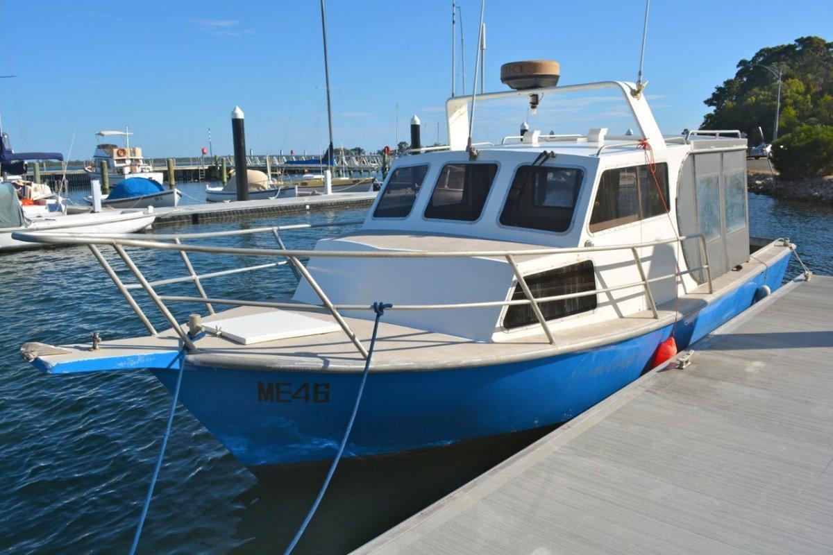 Custom Alloy Fishing boat