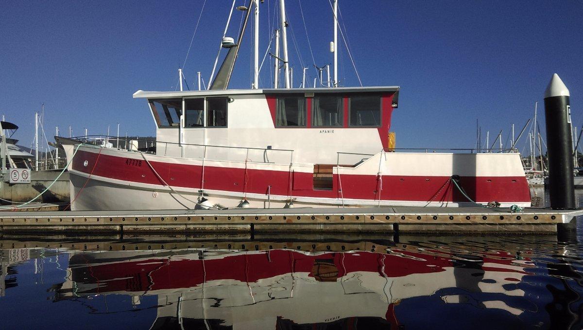 47ft Wooden Motoryacht 'Apanie'