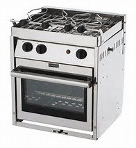 Force 10 A42 Compact Marine Galley Stove 2 Burner