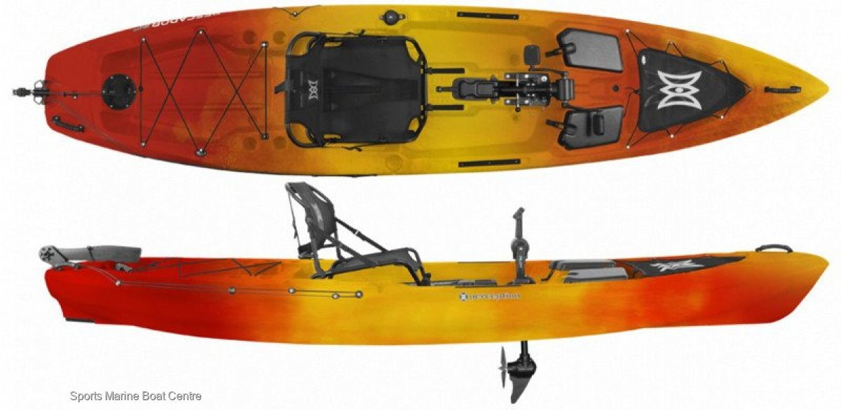 Perception Pilot peddle powered kayak HUGE SALE ON NOW!