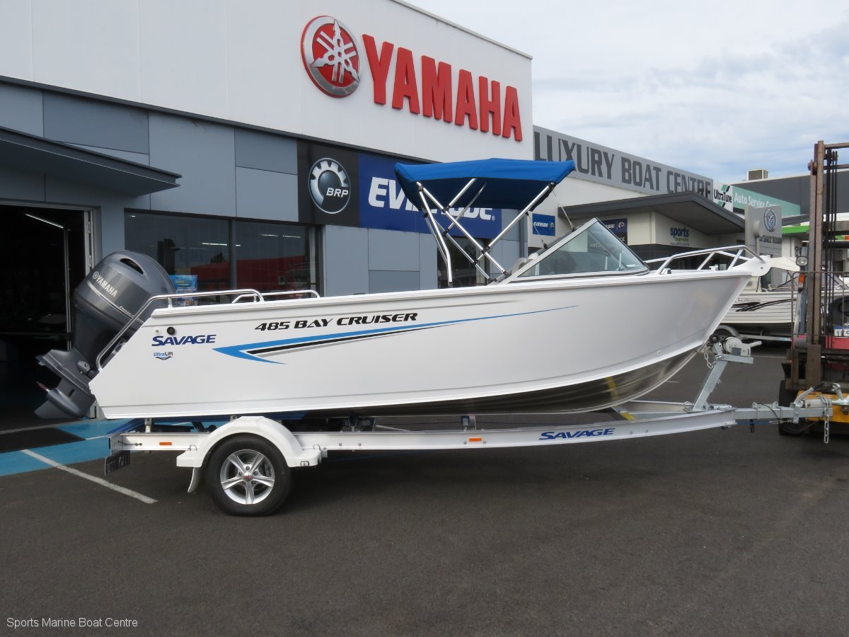 Savage 485 Bay Cruiser
