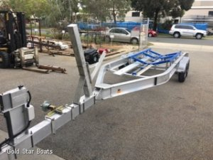 Goldstar Aluminium Boat Trailer
