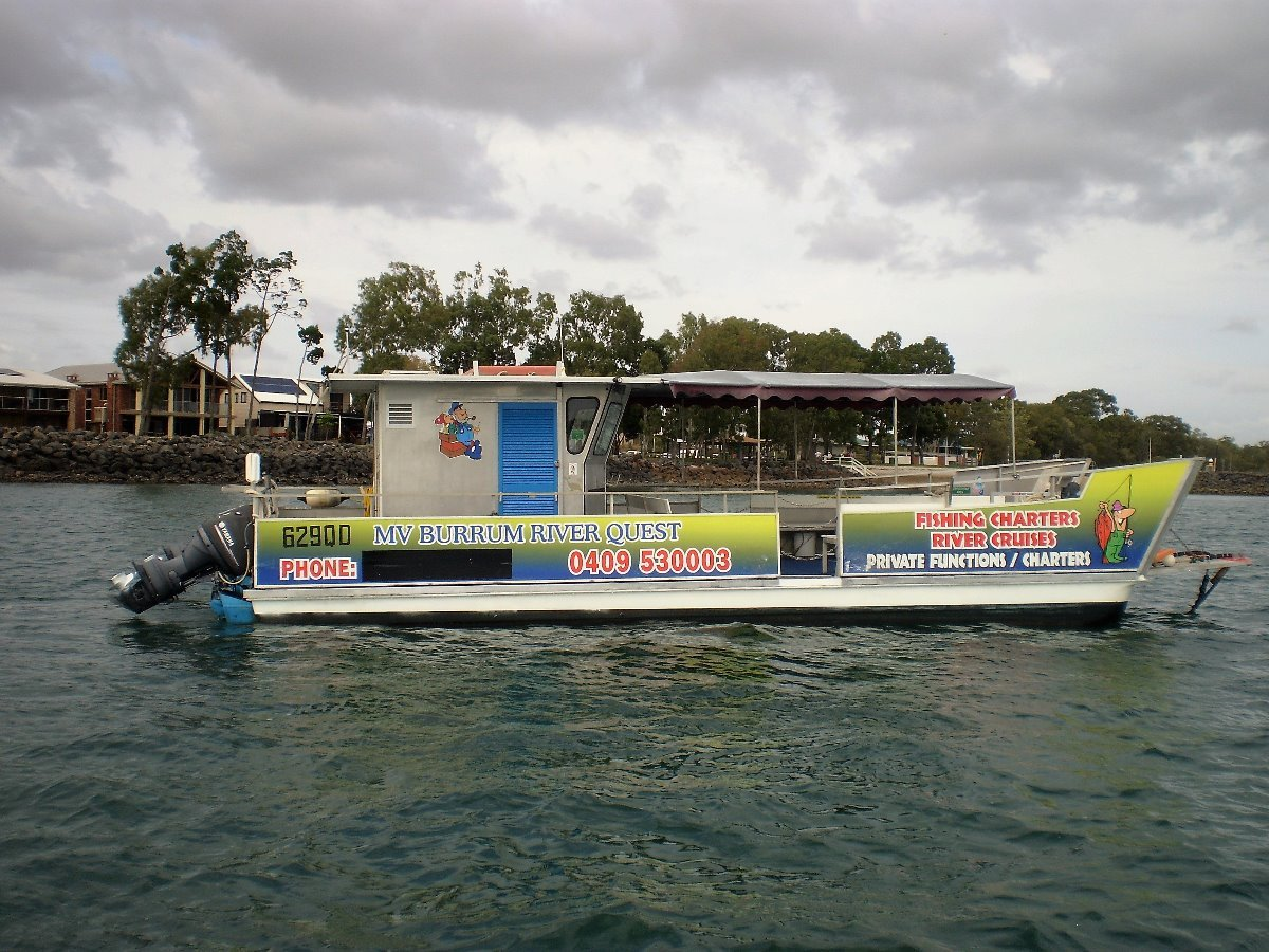 Custom GRP Barge