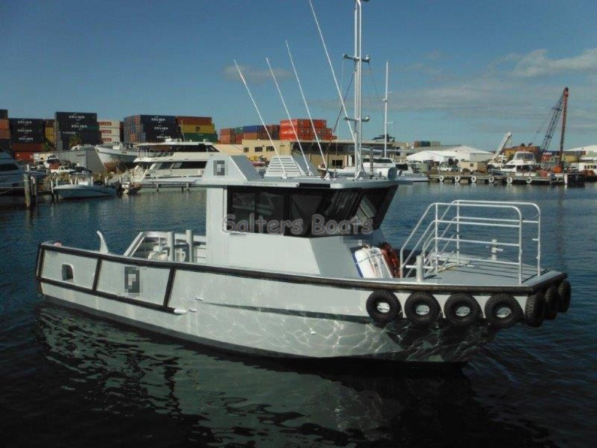 Custom 11.7m Niche Marine Support/Transfer Vessel